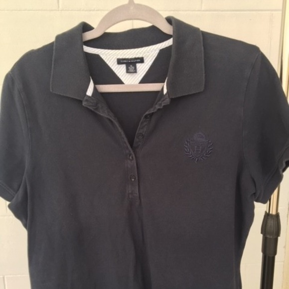 Tommy Hilfiger Tops - Tommy Hilfiger Ladies Polo XL Black